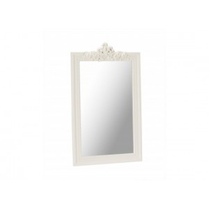 Juliette White Wall Mirror