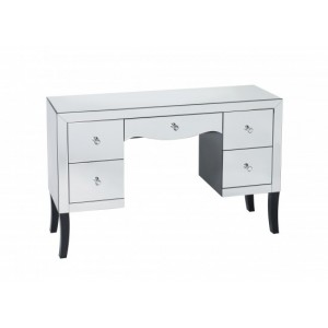 Valentina Mirrored Dressing Table (Assembled)