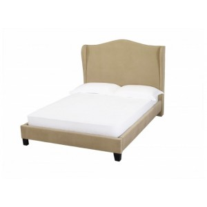 Chateaux Wing Bed in Beige