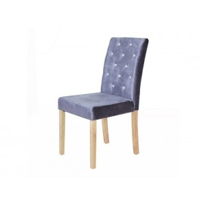 Paris Dining Chairs in Silver {Box of 2}