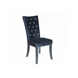 Radiance Dining Chairs in Black {Box of 2}