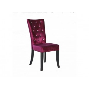 Radiance Dining Chairs in Plum {Box of 2}