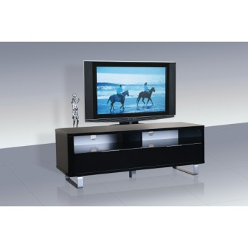 Accent High Gloss TV Unit in Black