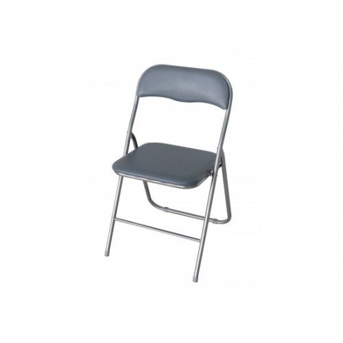 Folding Chair in Silver *Out of Stock - Back Soon*