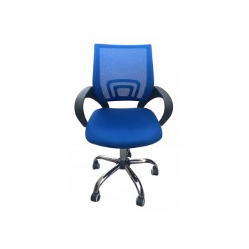 Tate Mesh Back Office Chair in Blue