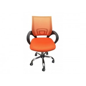Tate Mesh Back Office Chair in Orange