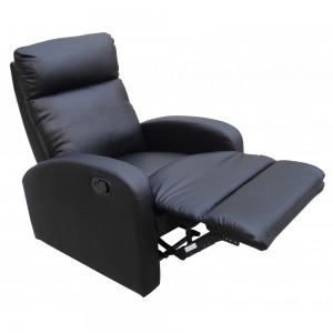 Dallas Recliner Chair in Black*Out of Stock - Back Soon*