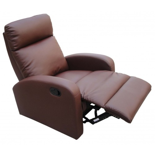 Dallas Recliner Chair in Brown