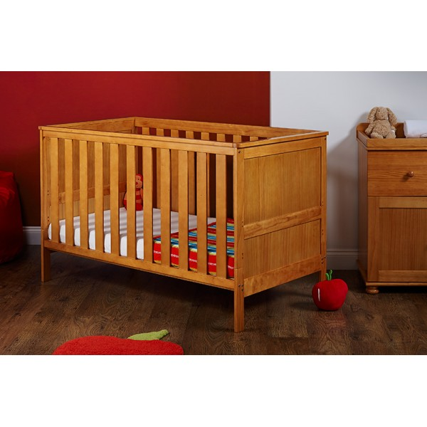 Newark Cot Bed in Country Pine