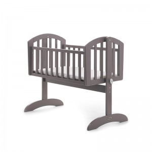 Sophie Swinging Crib in Grey  *Out of Stock - Back Soon*