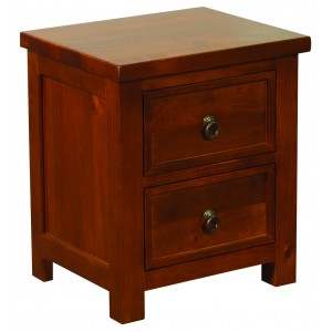 Curlew Wild Cherry Bedside {Assembled} *Low Stock - Selling Fast*