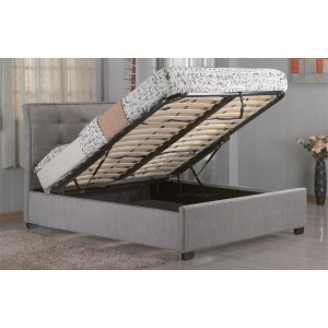 Edmonton Grey Ottoman Bed *Low Stock - Selling Fast*