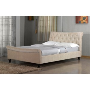 Richmond Shell Sleigh Bed *Low Stock - Selling Fast*