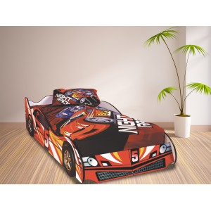 Formula Red Car Bed
