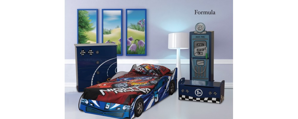 Formula Racer Bedroom