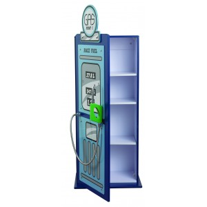 Formula Blue Gas Pump Cabinet