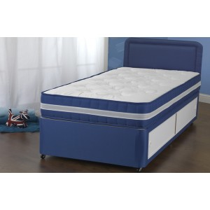 Fun Blue Divan Bed