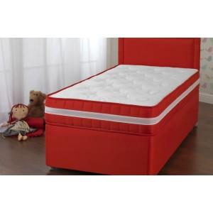 Fun Red Divan Bed