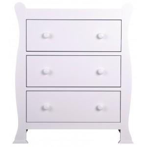 Izzy White Chest of Drawers *Low Stock - Selling Fast*