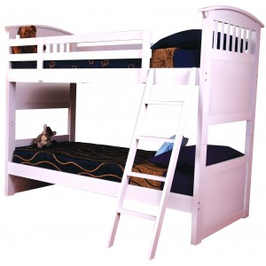 Ruby White Bunk Bed *Low Stock - Selling Fast*