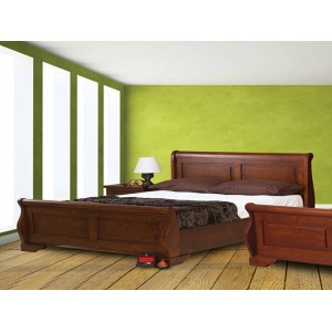 Jackdaw Bed in Mahogany