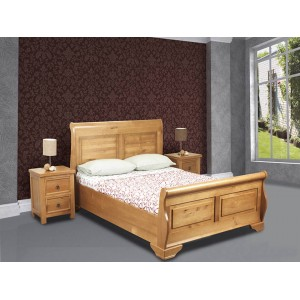 Jackdaw Bed in Oak Effect