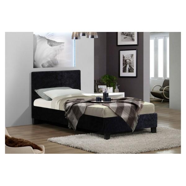 Berlin Black Crush Bed
