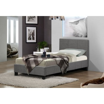 Berlin Grey Fabric Bed * 4ft Out of Stock - Back Soon*