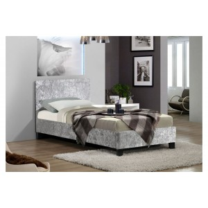 Berlin Steel Crush Bed *4ft, 4ft 6 & 5ft Out of Stock - Back Soon*