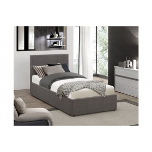 Berlin Grey Fabric Ottoman Bed *Out of Stock - Back Soon*