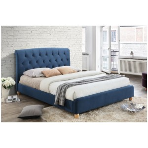 Brompton Midnight Blue Bed * 4ft & 4'6 Out of Stock - Back Soon*