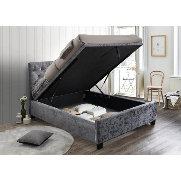 Cologne Steel Crush Ottoman Bed