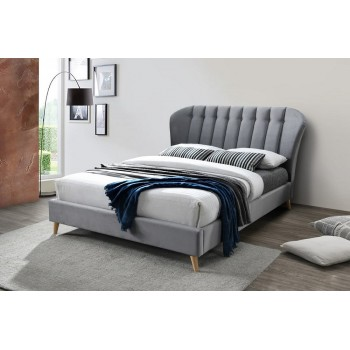 Elm Grey Bed