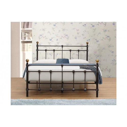 Atlas Black Bed *Low Stock - Selling Fast*