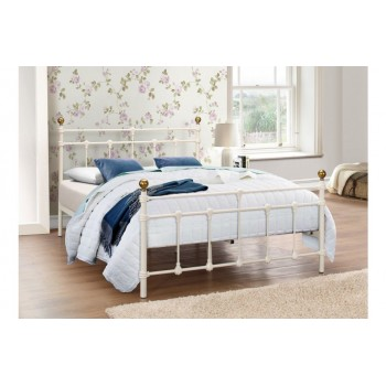 Atlas Cream Bed *4ft Out of Stock - Back Soon*
