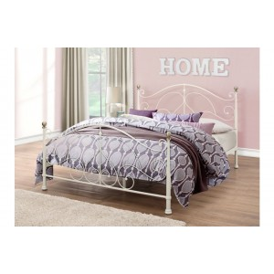 Milano Cream Bed *5ft Out of Stock - Back Soon*