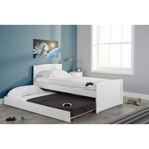 Beckton White Guest Bed