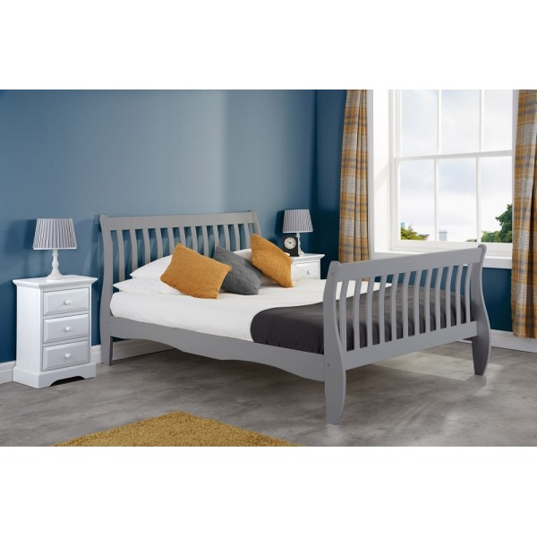 Belford Grey Bed
