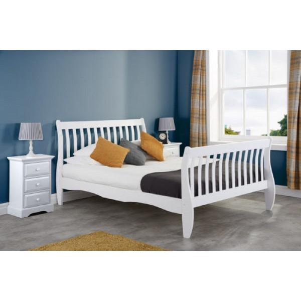 Belford White Bed
