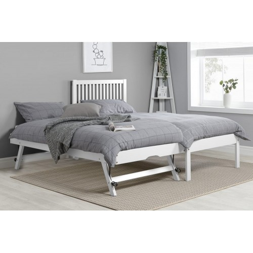Buxton White Trundle Bed
