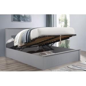 Fairmont Grey Ottoman Bed