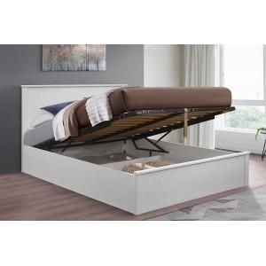 Fairmont White Ottoman Bed