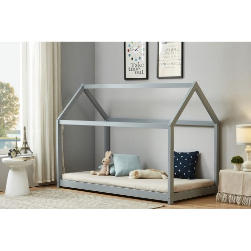 House Grey Bed
