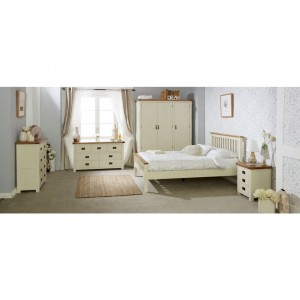 New Hampshire Cream High End Bed *5ft Out of Stock - Back Soon*
