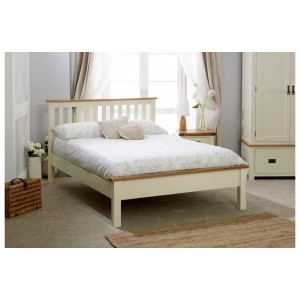 New Hampshire Cream Low End Bed