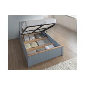 Phoenix Stone Grey Ottoman Bed