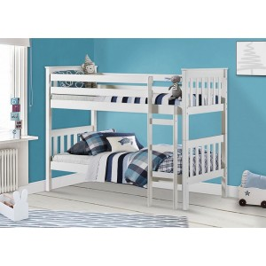 Portland White Bunk Bed