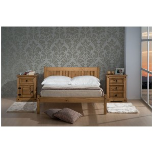 Rio Pine Bed 4ft & 4'6 Out of Stock - Back Soon*