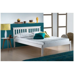 Salvador Whitewash Bed *4ft Out of Stock - Back Soon*