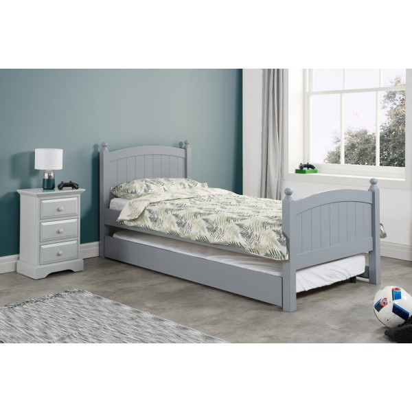 Whitehaven Grey Guest Bed
